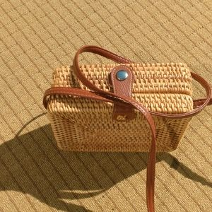 Patton Staw Hobo Cross body bag/ purse